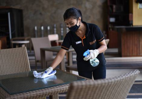 Room and Public Areas Cleaning - The ONE Legian Hotel