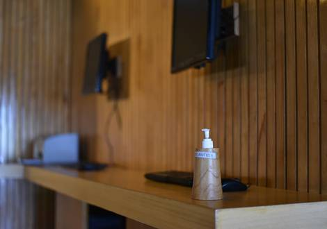 Hand Sanitizer In Public Areas - The ONE Legian Hotel