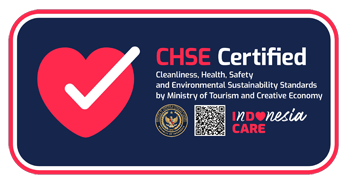 The ONE Legian Hotel Received CHSE Certification from Ministry of Tourism & Creative Economy